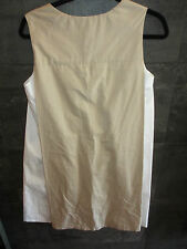M. Patmos beige cotton dress size S made in USA