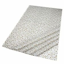 GIFT WRAPPING TISSUE PAPER Gold Stars Design uses Recycled Fibres 50 x 76cm 3252