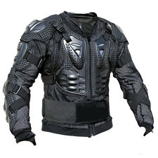 Full Body Armor Shirt Motorcycle Riding Jacket Back Shoulder Protector Gear Bike