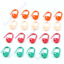 20/100Pcs Knitting Craft Crochet Locking Stitch Needle Clip Markers Holder