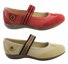 DONNA VELENTA KAR LADIES/WOMENS LEATHER COMFY CASUAL SHOES/FLATS/MARY JANES