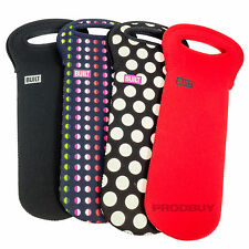 2 x Built NY Wine Cooler Tote Bags Insulated One-Bottle Sleeves Holders Carriers