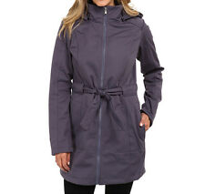 The North Face Womens Sashanna Jacket Softshell long Coat S-M NEW