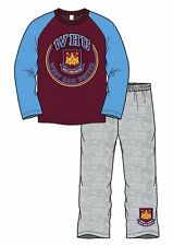 WEST HAM UNITED FC boys pyjamas sizes from 4 to 12 years OFFICIAL MERCHANDISE