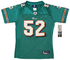 Channing Crowder - Authentic NFL Miami Dolphins Replica Jersey - Girls Youth