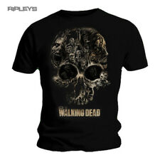 Official T Shirt THE WALKING DEAD ~ Zombie SKULL Collage All Sizes