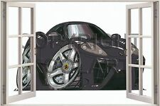 Huge 3D Koolart Window view Ferrari Marinello Wall Sticker Poster 1974