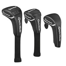 TaylorMade Golf Black Club Head Covers  Driver Fairway Hybrid Replacements