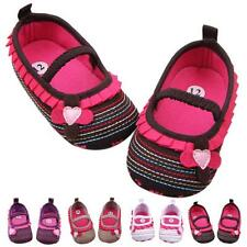 Cute Anti-slip Crib Shoes Baby Girls Soft Sole ShoesWalker Prewalker Shoes Gifts