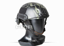2016 FMA Black Multicam Tactical Protective Base Helmet for airsoft paintball
