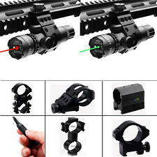 Tactical Laser Sight W/ 20mm Picatinny Weaver Rail Mount & Pressure Switch