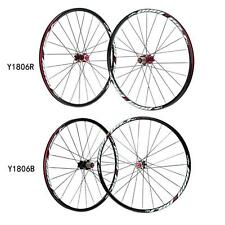 26'' 24 Holes MTB Bicycle Front Rear Wheelset Hubs Rim FOR Outdoor Cycling TF0Y
