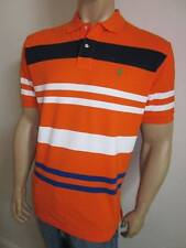 Polo Ralph Lauren Orange White Navy Stripes NWT