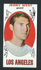 Jerry West Los Angeles Lakers 1969-70 Topps Card #90