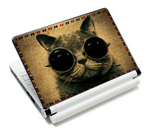 "Sunglasses Cat 11.6"" 12"" 13"" 13.3"" 14"" 15"" 15.6"" Laptop Notebook Skin Sticker"