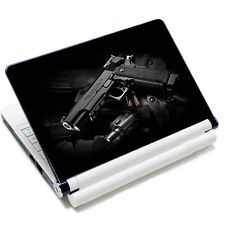 "Gun Laptop Sticker Skin Decal For 11.6""-15.4"" Sony HP Dell Acer Toshiba Lenovo"