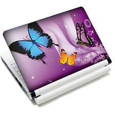 "Pink 3 Butterfly Laptop Notebook 10.6""-15.6"" Vinyl Skin Sticker Cover Protector"