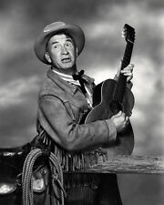 CHILL WILLS WITH GUITAR WESTERN STAR PHOTO OR POSTER