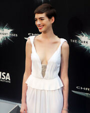 ANNE HATHAWAY LOW CUT REVEALING DRESS DARK KNIGHT RISES PREMIERE PHOTO OR POSTER
