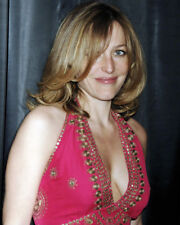 GILLIAN ANDERSON BUSTY CLEAVAGE CANDID PHOTO OR POSTER