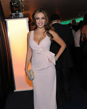 KELLY BROOK SEXY IN WHITE GOWN PHOTO OR POSTER