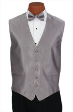 Small Mens Iris Herringbone Wedding Party Prom Fullback Tuxedo Vest Formal