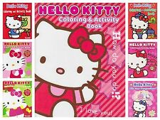 Hello Kitty Assorted Coloring Activity Book 1ct Party Favor Holiday Gift