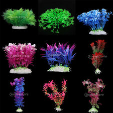 Vrious Artificial Plants Aquarium Fish Tank Underwater Ornament Landscape Decor