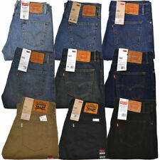NWT LEVI'S Levis 505 Jeans New Mens Regular Fit Straight Leg CHOOSE COLOR/SIZE