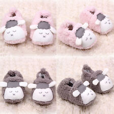 Lovely Baby Boys Girls Winter Warm Plush Booties Infant Soft Slipper Crib Shoes