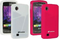 AMZER SOFT SILICONE SKIN JELLY CASE COVER FIT FOR L CHOCOLATE TOUCH VX8575