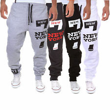 Mens Women Jogger Dance Sportwear Baggy Harem Pants Slacks Trousers Sweatpants