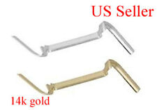 14K SOLID YELLOW or Yellow Large RING GUARD ADJUSTER TIGHTENER US SELLER