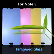 Color Tempered Glass Reflective Mirror Screen Protector For Samsung Galaxy Note5