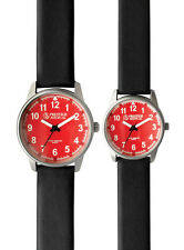 Prestige Medical Nurse/EMT Unisex Red Face Watch - 2 Sizes!