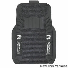 MLB Logo 20x27 Deluxe Car Mats (Set of 2)