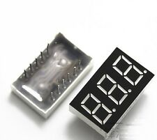 50 PCS 0.36 inch 3 digit 7 seg segment Common anode led display Red