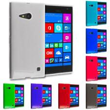 For Nokia Lumia 730 735 TPU Rubber Transparent Skin Case Cover Clear Accessory
