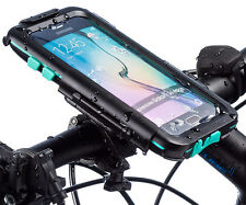 Ultimateaddons Bicycle Bike Mount + Tough Waterproof Case for Galaxy S6 / Edge