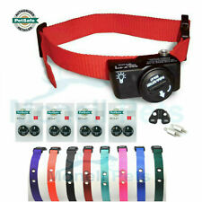 """PetSafe PIF-275 Wireless Dog Fence Receiver Collar 9 Batteries 3/4"""" Color Strap"""