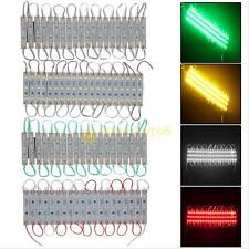 20pcs 3 LED 5050 SMD Module Waterproof IP65 Light Lamp Strip DC 12V Decoration