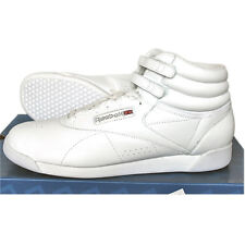 Reebok Freestyle Hi F/S Shoes Trainers Fitness Leather white Size 43-44 NEW
