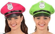 Womens Sexy Hot Police Hat Costume Officer Policeman Police Man Cop Accessory