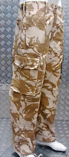 Genuine British Army Desert Camo Ripstop Windproof Combat Trousers - NEW