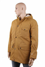 Timberland Men's Winter Jacket Parka ROLLINS 2 in 1 Bronze Size M #TL535