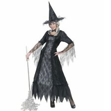Fancy dress Witch Costume Sorceress Fairy Vampire Horror Halloween Carnival