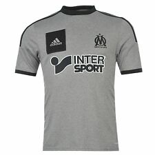Adidas Olympique de Marseille Away Jersey Juniors 2014 2015 Grey Football Soccer