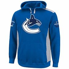 Vancouver Canucks Blue Hat Trick Hooded Sweatshirt Hoody
