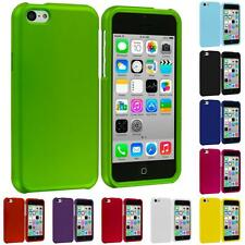 Color Hard Snap-On Rubberized Case Skin Cover Accessory for Apple iPhone 5C