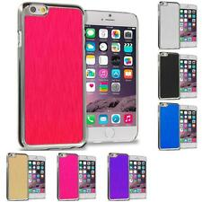 Brushed Aluminum Metal Luxury Hard Case Cover for Apple iPhone 6 (4.7)